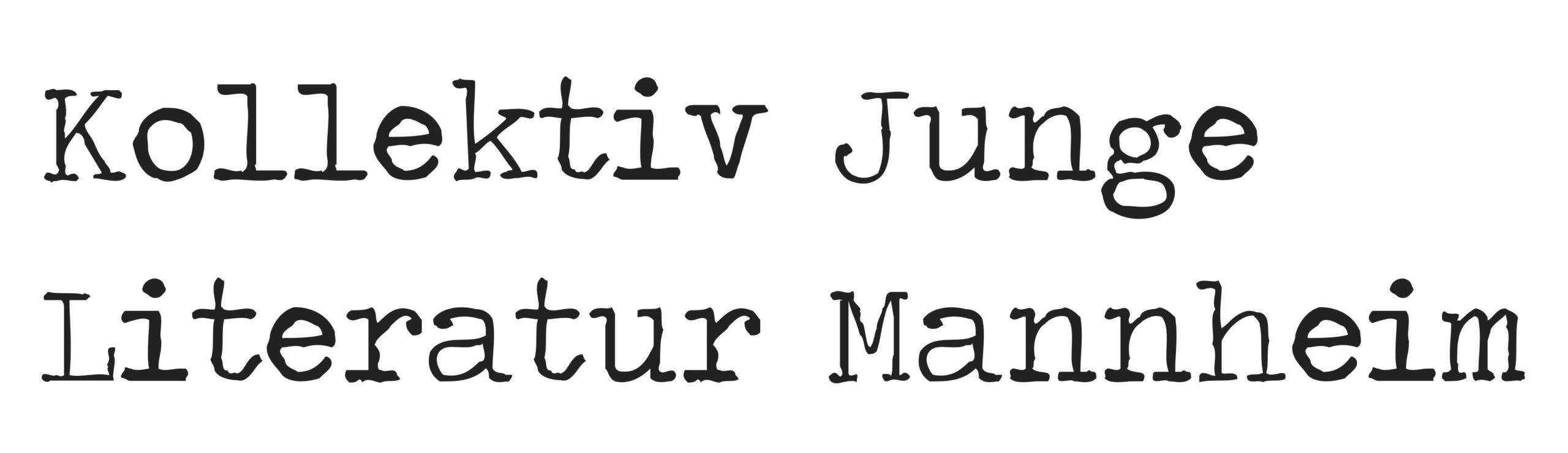 Kollektiv Junge Literatur Mannheim